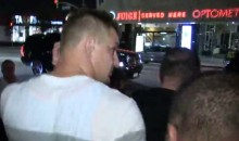 Stop Us If You've Heard This Before: Gronk Was at a Club with a Hot Blonde (Video)