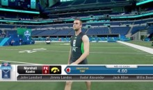 Iowa Kicker Wins $10,000 for Record-Setting 40 at NFL Combine (Video)