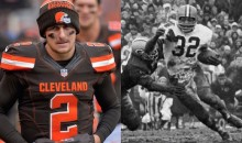 Johnny Manziel Upsets Jim Brown in Cleveland Sports March Madness Bracket