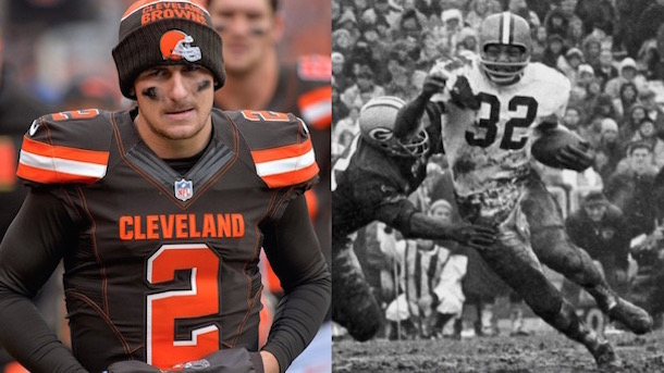 johnny manziel upsets jim brown cleveland sports march madness bracket