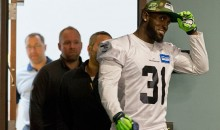 "Women Who Saw Seahawks' Kam Chancellor At Gym thinks He's ""Homeless/Drug Addict"" (911 Audio)"