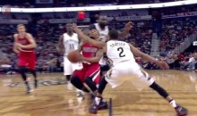 Pelicans' Kendrick Perkins Ejected After Hitting Damian Lillard With A Clothesline (Video)