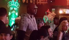 Lamar Odom Spotted Drinking at a Bar, Wearing Same Clothes to Easter Mass the Next Day (Pics)