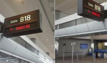 Denver Airport Honors Peyton Manning with…His Name Temporarily on a Gate? (Pic)