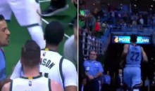 Matt Barnes Chased John Henson Down Tunnel To Fight Him After Both Were Ejected From Game (Video)