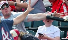 This Flying Bat Came Within Inches of a Young Pirate Fan's Face (Video)