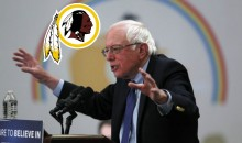 Bernie Sanders Believes The Redskins Should Change Their Name
