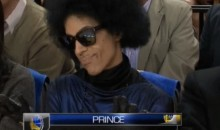 Prince Was at the Warriors-Thunder Game, Looking Pimp as Hell (Video)