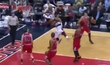 Ramon Session Threw Up an Insanely Ugly Shot Last Night (Video)