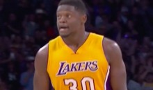 Julius Randle Celebrates After Game-Winner, Avoids D'Angelo Russell (Videos)