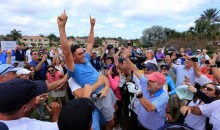 Rickie Fowler Hole-in-One at Ernie Els Charity Pro-Am Wins $1 Million for Autism Research (Videos)