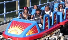 Russell Wilson, Ciara, and Ciara's Kid Spend the Day at Disneyland (Video + Pics)