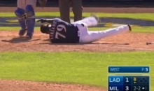 Rymer Liriano Suffers Facial Fractures after Beanball to the Head (Video)