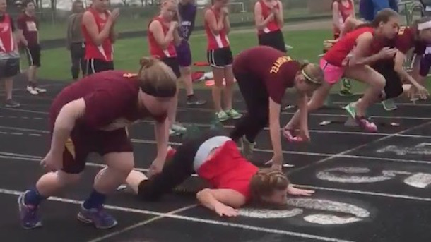 track fail epic faceplant