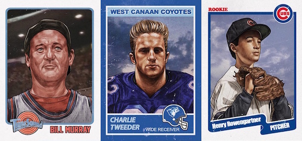tv and movie athlete trading cards
