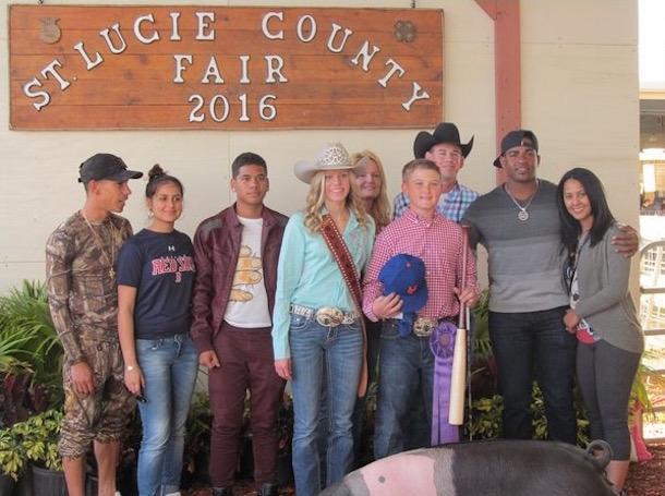 yoenis cespedes grand champion hog sent to butcher
