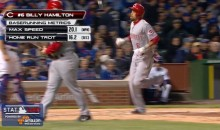 Billy Hamilton With the Fastest Home Run Trot Ever! (Video)