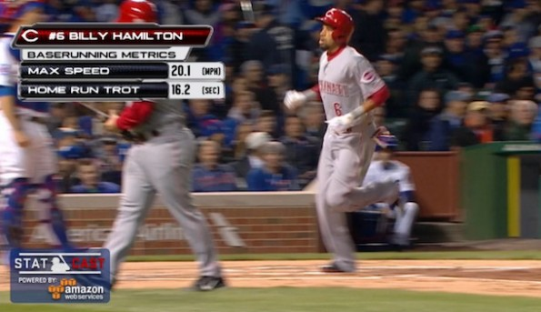 Billy Hamilton Home Run Trot