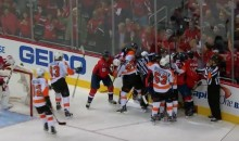 It Didn't Take Long For the Capitals-Flyers Series to Get Nasty (Videos)