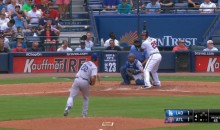 Clayton Kershaw Used a 46 MPH Pitch vs. the Braves Today (Video + GIF)