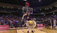 Mississippi State's Craig Sword Tries to Dunk Over a Pancake, Fails Miserably (Video)