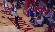 Steph Curry Accidentally Punched a Ref in the Head (Video)