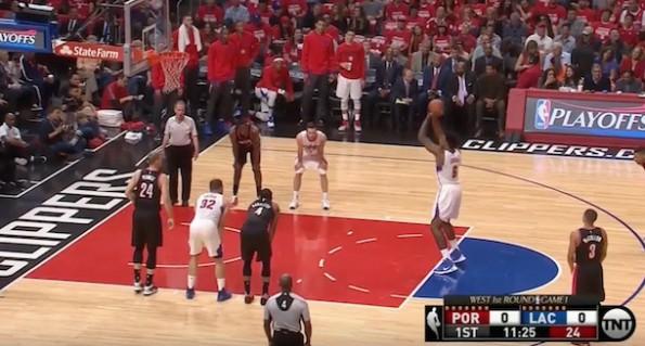 DeAndre Jordan free-throw miss