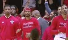 Rockets Teammates Didn't Look Too Happy About James Harden Game-Winner (Video)