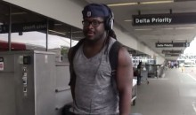 Eddie Lacy Doesn't Want to Answer Questions About His Weight (Video)