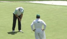 Ernie Els 7-Putted The First Hole at The Masters (Video)