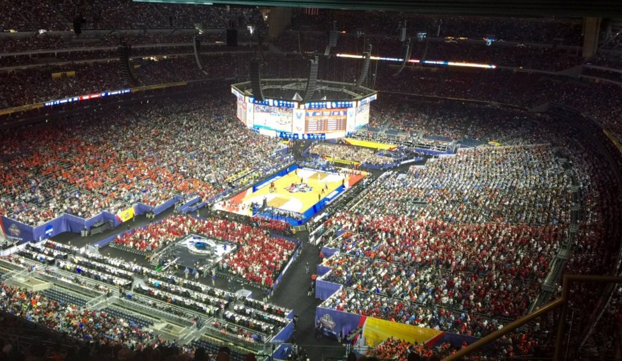 The Worst Seats at the Final Four are REALLY BAD!!! (Pic) | Total Pro Sports