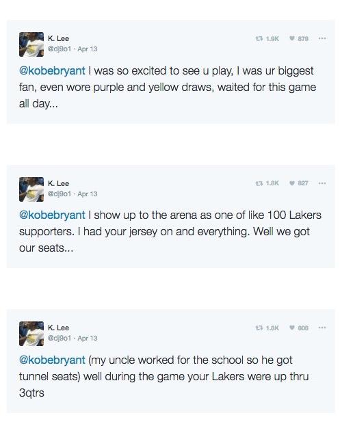 Former Kobe Bryant Fan story fuck you 2