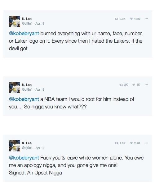 Former Kobe Bryant Fan story fuck you 4