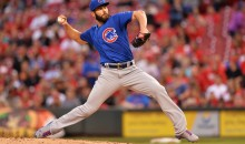 Chicago Cubs Pitcher Jake Arrieta Throws A No-Hitter Vs. Reds