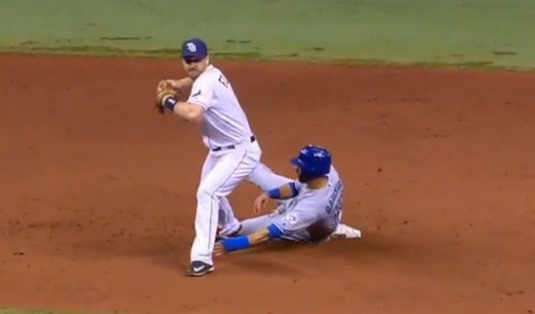 Jose Bautista Slide Rule Violation