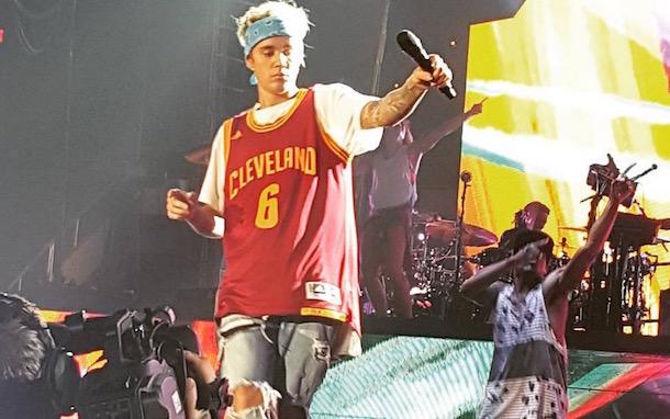 Justin Bieber Cavs Jersey