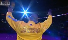 Watch Kobe Bryant's Final Introduction & Lakers Tribute (Video)