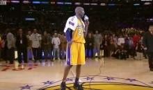 'Mamba Out': Kobe Bryant Gives Farewell Speech After Final Game, Drops Mic (Video)
