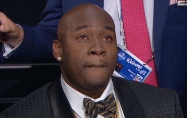 Laremy Tunsil Red Eyed