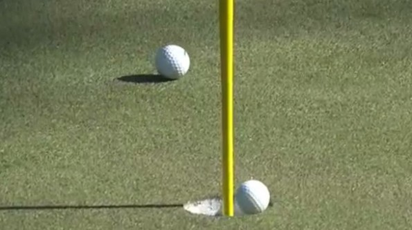 Louis Oosthuizen hole in one - The Masters