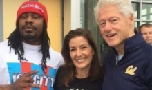 Marshawn Lynch and Bill Clinton Hung Out Together in Oakland (Pics)