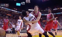 Doug McDermott Tackles Hassan Whiteside…Football Style (Video)