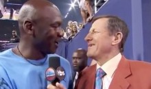 Michael Jordan Shows Up at NCAA Finals, Hangs With Craig Sager, Gets Crying Jordan Treatment