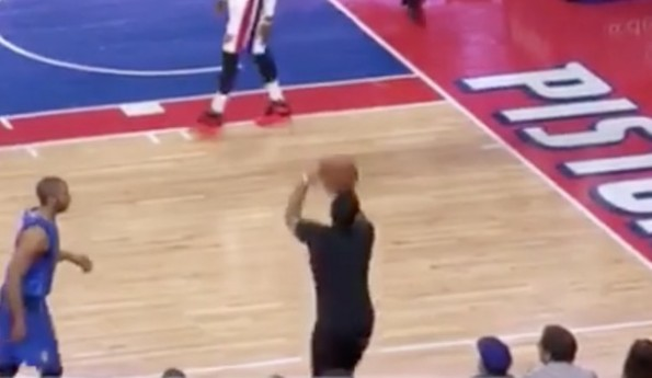 Piston Fan Three-Point Attempt