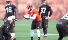 RG3 Practices For the First Time in a Cleveland Browns Uniform (Video)