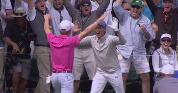 Rickie Fowler Justin Thomas Hole in One Masters