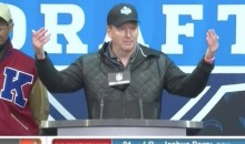 Roger Goodell Tells Crowd to 'Bring on the Boos' During NFL Draft (Video)