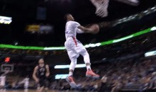 Russell Westbrook Doesn't Slow Down For This Fast-Break Reverse Dunk (Video)
