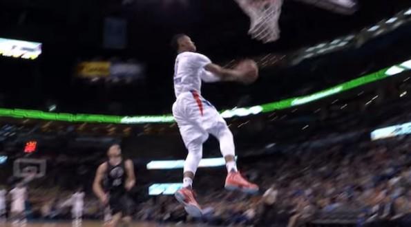 Russell Westbrook Reverse Slam