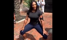 Serena Williams Takes Time Out of Her Schedule to Teach Us How to Twerk (Video)